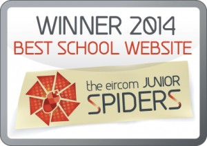 2014 Winner - Best School Website.