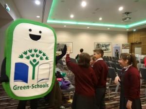 Green Schools mascot