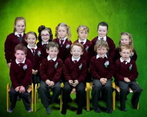 (F) Eoin, Glyn, Cian, Enda, Gavin (B) Sorsha, Aoibhínn, Grace, Niamh, Alaois, Alisha, Holly