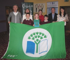 Receiving our third Green Flag for the Water Theme.