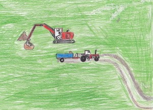'The Digger' by Ciaran