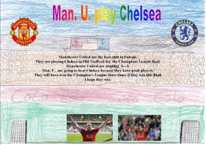 'Manchester United v. Chelsea' by Justin