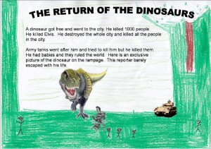 'The Return of the Dinosaurs' by Patrick