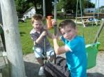Evan and Thomas.