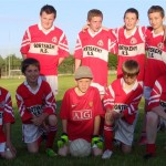 The Boys team who reached the final of the McCarten Cup.