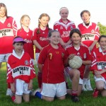 The Girls team who were narrowly beaten in the Heaney Shield Final after extra time.