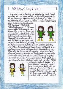 'An Clone' scríofa ag Mollie.