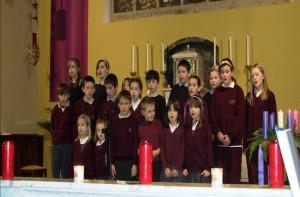 Singing 'Away in a Manger'