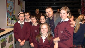 Group photo with Aidan Power, RTÉ.