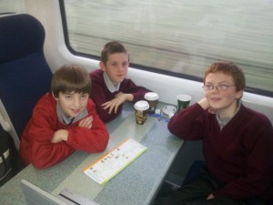 Enda, Justin and Conal