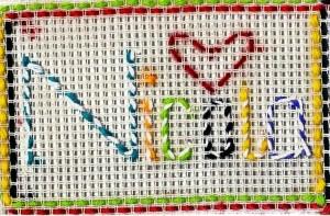 Nicola's Weaving.
