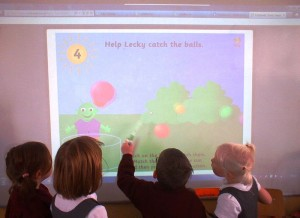 Learning with the aid of the Interactive Whiteboard.