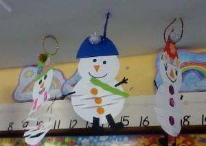 Bouncing Snowmen