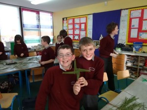 Thomas And Adam Showing Their Cross