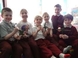 Junior Room Show Their Crosses