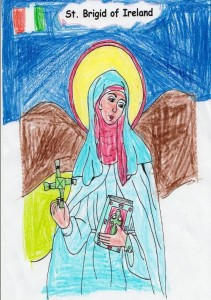 Amy's picture of St.Bridget