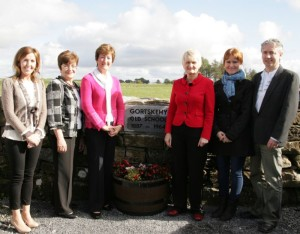 Niamh Gallagher, Teacher; Teresa Higgins, retired Principal, Phil Roche, retired teacher; Marian Harkin, MEP; Mairéad Uí Raghallaigh, Learning Support Teacher; Pádraig Ó Beirn, Principal.