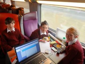 On the TGV to Strasbourg!
