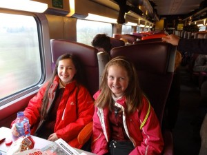 On the TGV to Strasbourg!