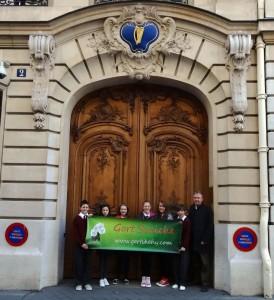 The Irish Embassy, Paris