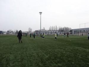 GAA football match in Strasbourg.