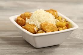 Curry de volaille a l'ananas