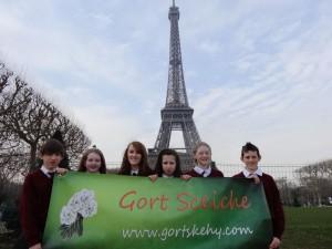 Gortskehy at Eiffel Tower