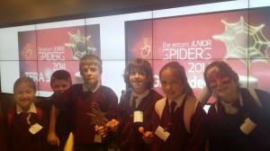 Junior Spider Winners!