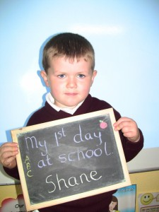 Shane`s First Day at School