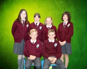 Blaine, Adam, Grace, Lorna, Nicole, Megan