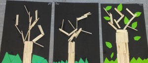 Match Stick Trees