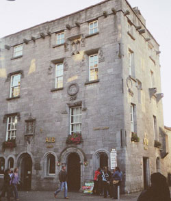 Lynch's castle in Galway.