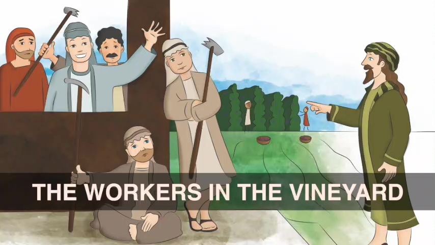 The Workers in the Vineyard (June 2018)