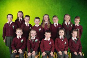 (F) Cian, Holly, Eóghan, Grace, Aoibhínn (B) Alisha, Sorsha, Eoin, Glyn, Niamh, Enda, Alaois, Gavin