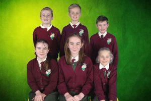 (F) Kellyann, Ruby, Aoife (B) Bradley, Cathal, Evan