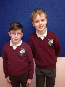 Evan and Cathal