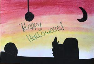 Dayna's Halloween Art