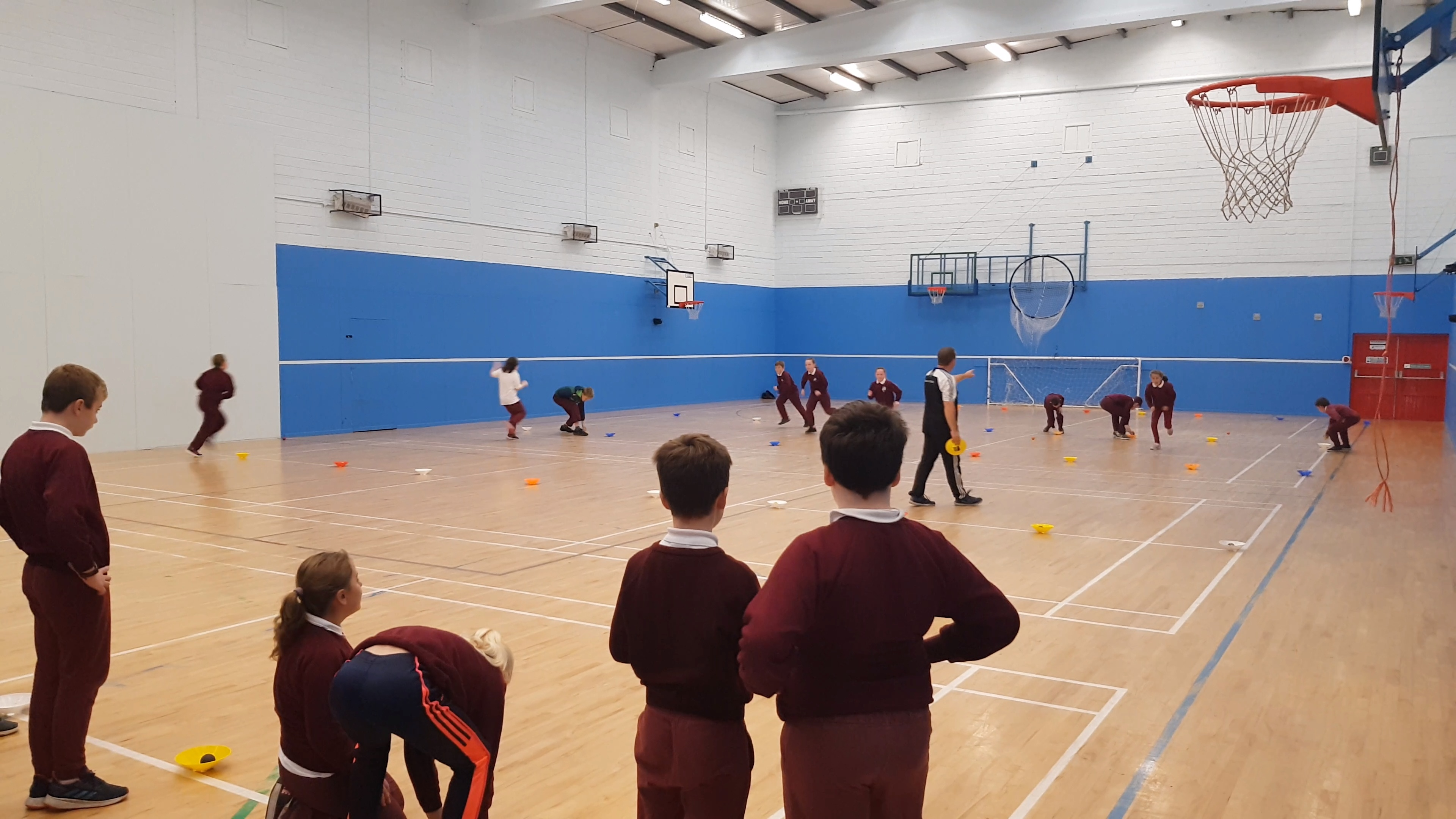 Handball training (October 2019)