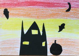 isabel's halloween art