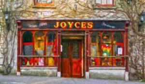 Jpyce's pub, Ballinrobe.