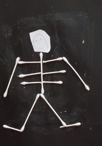 My skeleton art