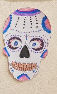 Isabel's sugar skull