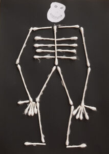 My Halloween Skeleton Art